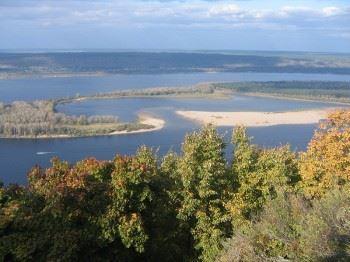 Волга, вид с Жигулей